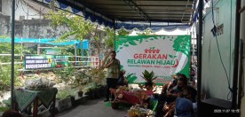 LAUNCHING RELAWAN HIJAU