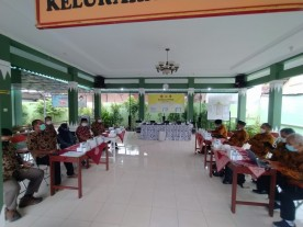 Penerimaan Tamu FKDM Kabupaten Klaten